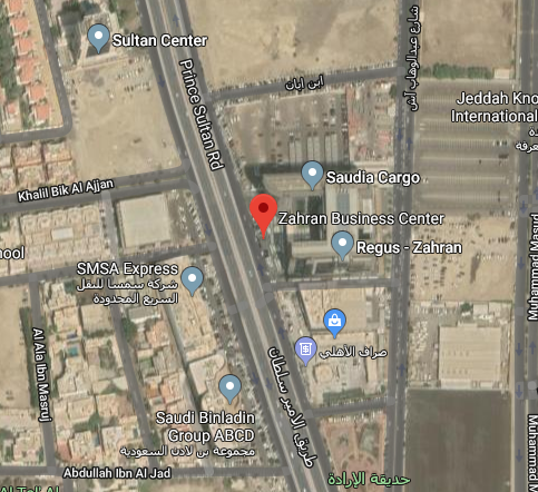 Address in Jeddah